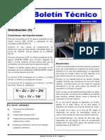Transformador de Distribución (II)