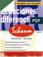 228228449 Ecuaciones Diferenciales Richard Bronson Schaum