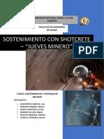 SHOTCRETE - JUEVES MINERO