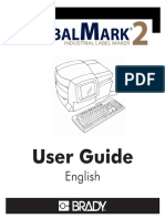Manual for BRADY GlobalMark 2english