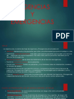 Urgencias y Emergencias