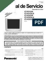 Manual de Servicio Ct f2123 Ct f2523g Lg Xg