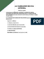 PROYECTO  2 NARRACION DE LEYENDA.docx