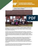 Oficina de formação de agentes comunitários para a preservação do patrimônio cultural