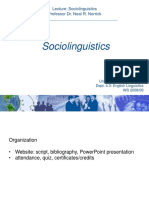 125974609-Sociolinguistics.ppt