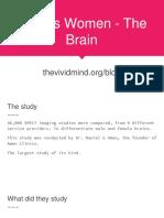Men vs Women - The Brain