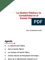 Los Sistemas Administrativos Del Sector Publico 2014