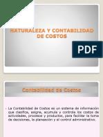 NATURALEZA Y CONTABILIDAD DE COSTOS