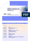 WebSphere MB and WTX