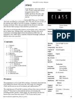 Class (2016 TV Series) - Wikipedia