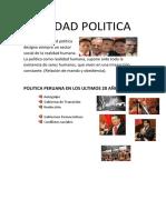 Realidad Politica Claudia Chavez