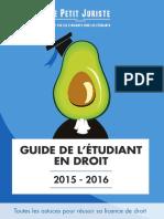 Guide eTudiAnt Droit
