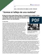 """Página_12 __ Espectáculos __ """"Somos El Reflejo de Una Realidad"""""""