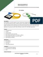 PLC Splitter FBT Coupler Module 522P
