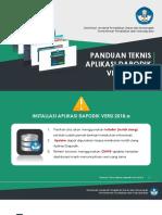 Panduan Aplikasi Dapodikdasmen Versi 2018.A