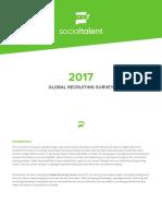 2017 Global Recruiting Survey SocialTalent
