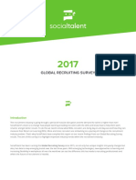 2017 Global Recruiting Survey SocialTalent