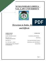 political Sc. terrorism.doc