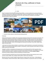 Ziuadecj.realitatea.net-Trei Proiecte de Arhitectură Din Cluj Calificate În Finala Romanian Building Awards