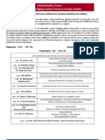 August 21st Detailed Agenda