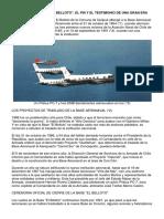 """Chile, """"La Base Aeronaval """"El Belloto"""", el fin y el testimonio de una gran era"""""""