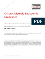 Chronic Myeloid Leukaemia London Cancer Guidelines 2015