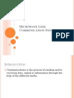 microwave linkcommunicationsystem