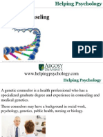 Genetic Counseling - Predicting The Future