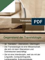 Translatologie