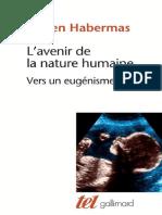 Jürgen Habermas-L'Avenir de La Nature Humaine _ Vers Un Eugénisme Libéra