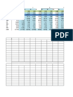 A prepared excel for Moment Distribution