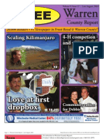 The late August, 2010 edition of Warren County Report.