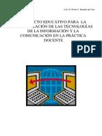 Proyec to Tic Revello de Toro