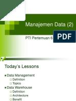 06. PTI - Manajemen Data (II)
