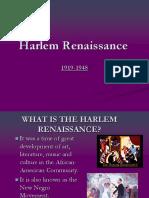 Harlem Renaissance PPT