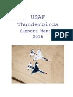 Thundbirds Support Manual 2016