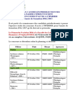 Consign Esc on Cours