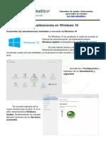 Windows 10 Historial Actualizaciones