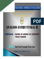 Clase III - Analisis Estructural II