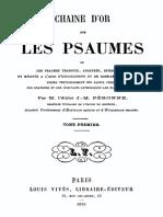 Chaine or sur les psaumes - Abbé J.-M. PÉRONNE.pdf