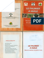 LE PALMIER a HUILE Manuel Du Plenteur Du Palmier à Huile