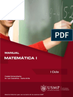 Manual Matemática