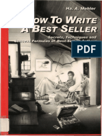 How to Write a Best Seller -