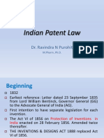 Indian Patent Law - RNP Ppt
