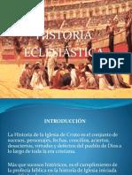 Historia ECLESIASTICA Primera Unidad