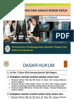 Analisis Jabatan & Analisis Beban Kerja