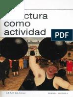La Lectura Como Actividad 788277