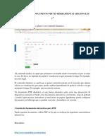 Como Hacer Un Documento PDF Sin Herramientas Adicionales