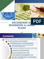 Decisiones de Inversión a Largo Plazo(1)