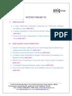 Dotnet Ieee 2017 Project List